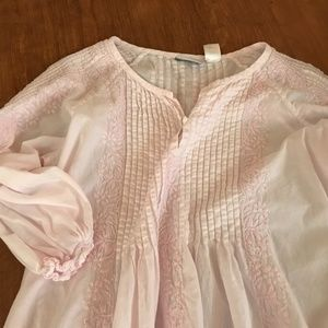 Soft Surroundings Nightgown Lounge Dress Pink M